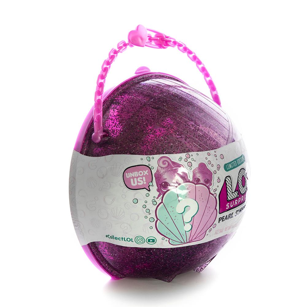 Кукла LOL Surprise Pearl (Лол-сюрприз Жемчужина) (розовый шар) - 2